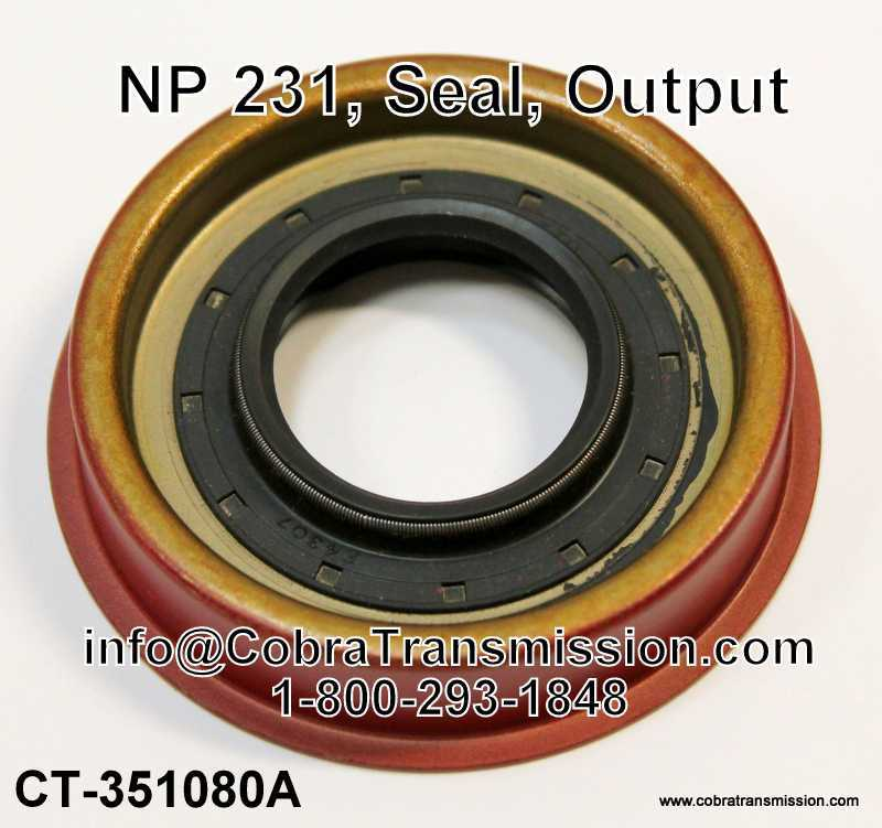 NP 233 Seal - Output