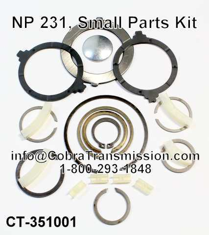 NP 231, Small Parts Kit