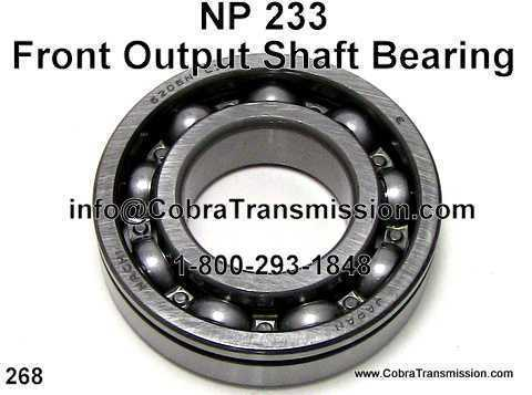 NP 233, Front Output Shaft Bearing