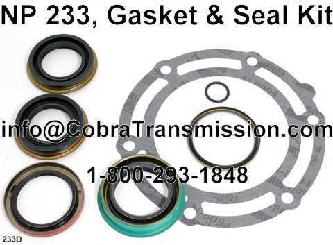 NP 233, Gasket & Seal Kit