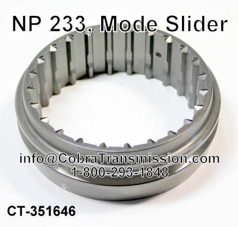 NP 233, Mode Slider