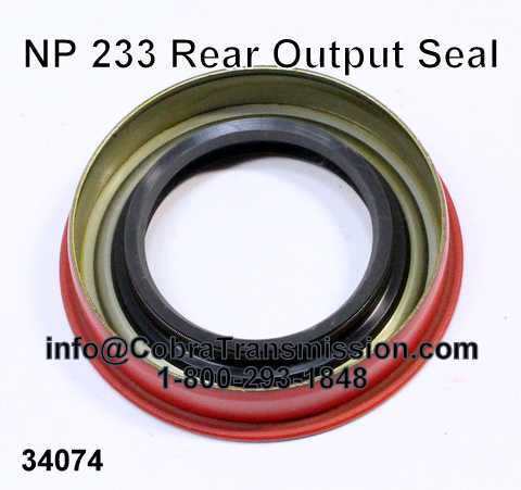 NP 233 Rear Output Seal