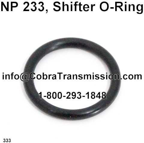 NP208, NP233 O-Ring - Shifter