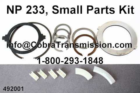 NP 233, Small Parts Kit
