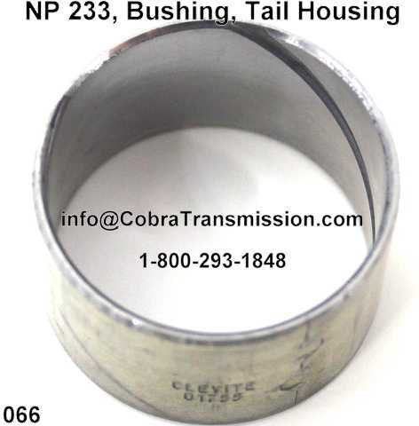 NP 233, Bushing, Tail Housing