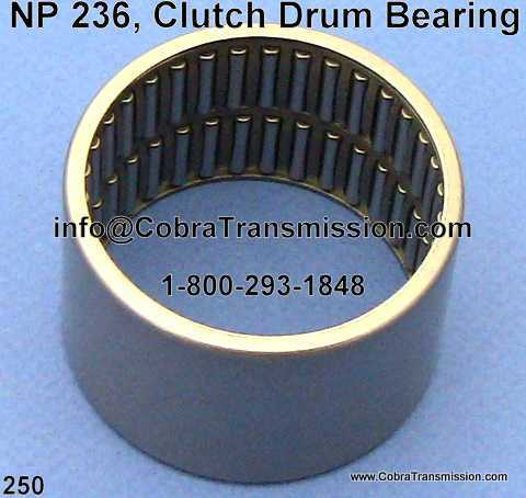 NP 236, Clutch Drum Bearing