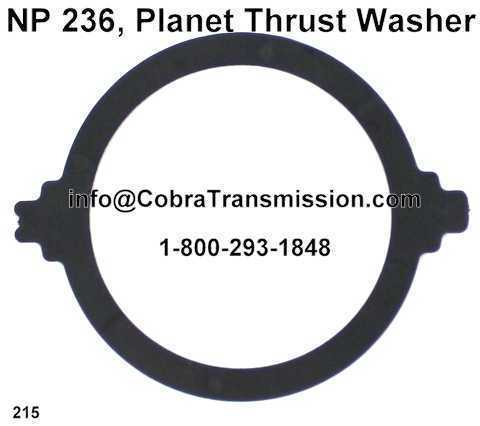 NP 236, Planet Thrust Washer