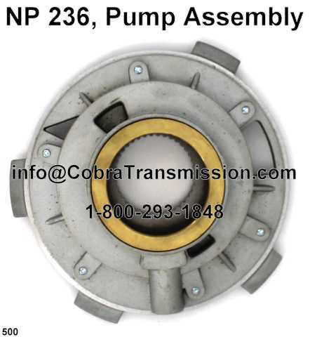 NP 236, Pump Assembly