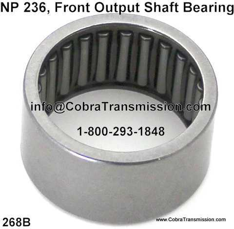 NP 236, Front Output Shaft Bearing