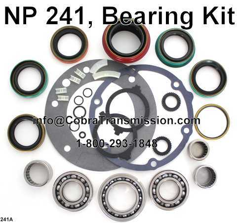 NP 241, Bearing Kit