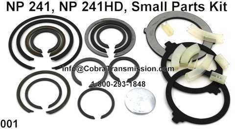 NP 241, NP 241HD, Small Parts Kit