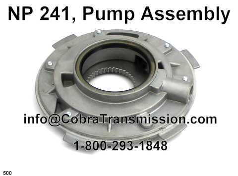 NP 241, Pump Assembly