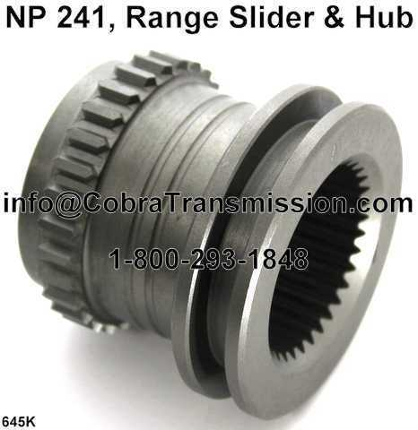 NP241 Range Slider and Hub