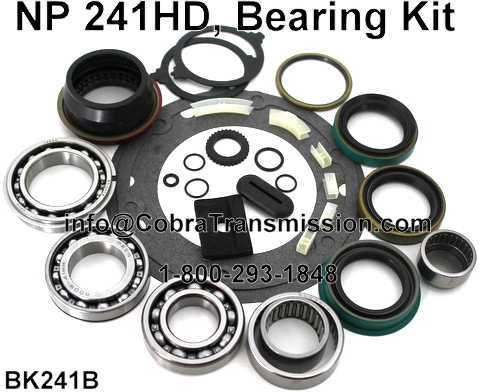 NP241HD Bearing, Gasket and Seal Kit