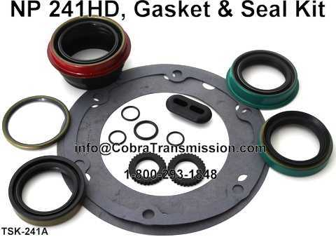 NP 241HD, Gasket & Seal Kit