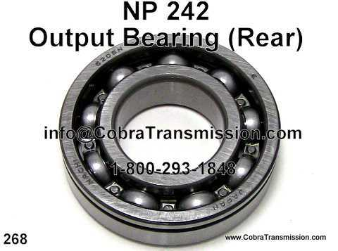NP 242, Output Bearing