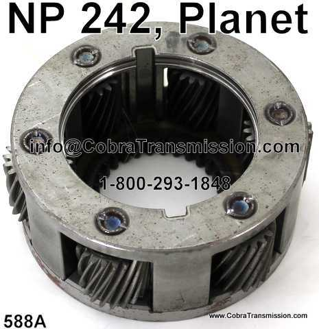 NP 242, Planet