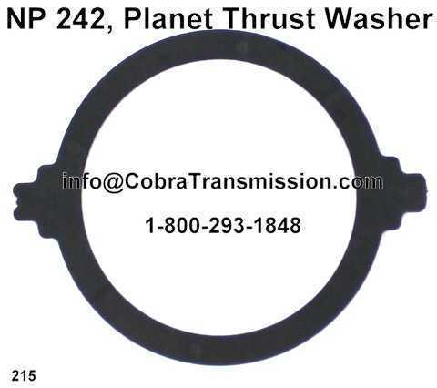 NP 242, Planet Thrust Washer