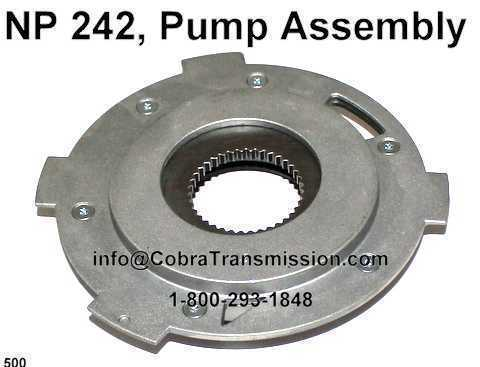 NP 242, Pump Assembly