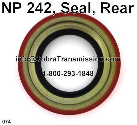 NP 242, Seal, Rear