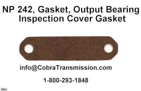 NP 242, Gasket, Output Bearing Inspection Cover Gasket