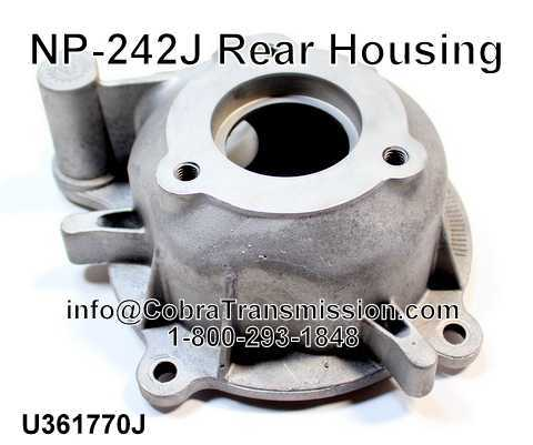 NP-242J Rear Housing