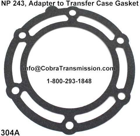 NP 241, Adapter to Transfer Case Gasket