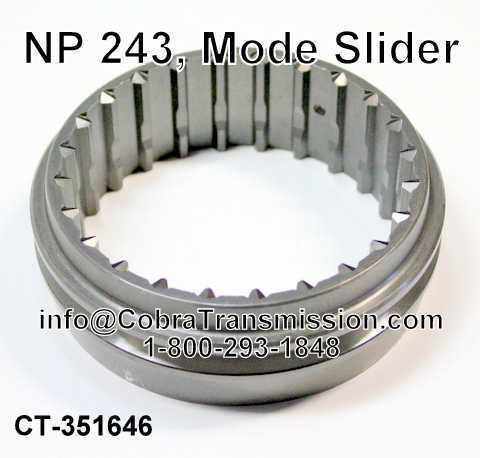 NP 243, Mode Slider