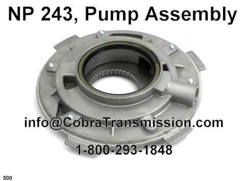 NP 243, Pump Assembly