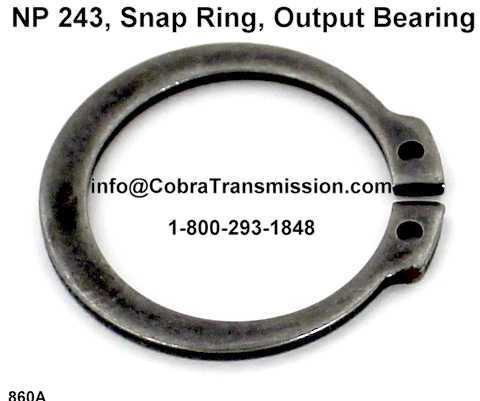 NP 243, Snap Ring, Output Bearing