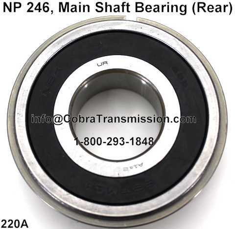NP 246, Main Shaft Bearing (Rear)