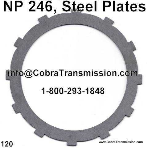 NP 246, Steel Plates