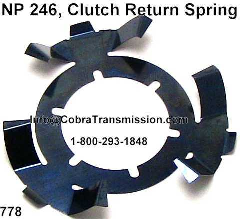 NP 246, Clutch Return Spring