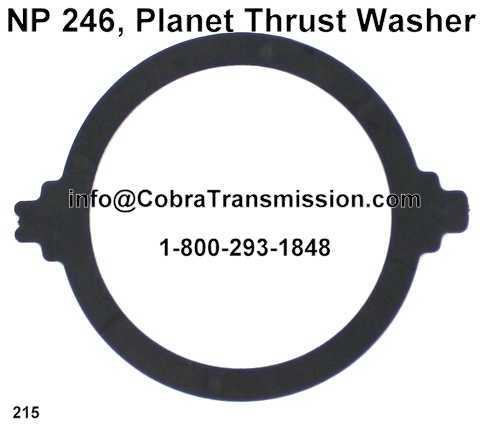 NP 246, Planet Thrust Washer (Plastic)