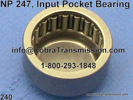 NP 247, Input Pocket Bearing