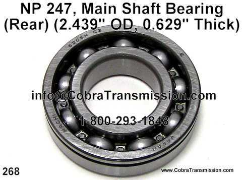 NP 247, Main Shaft Bearing (Rear)