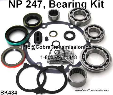 NP 247, Bearing, Gasket and Seal Kit