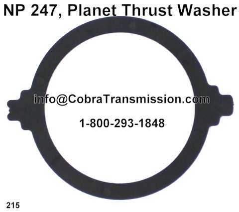 NP 247, Planet Thrust Washer (Plastic)
