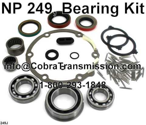NP 249, Bearing Kit