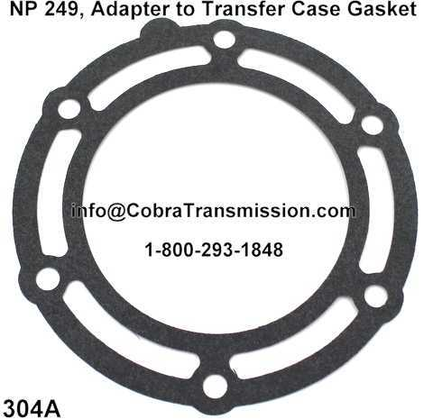 NP 249, Adapter to Transfer Case Gasket