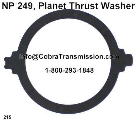 NP 249, Planet Thrust Washer
