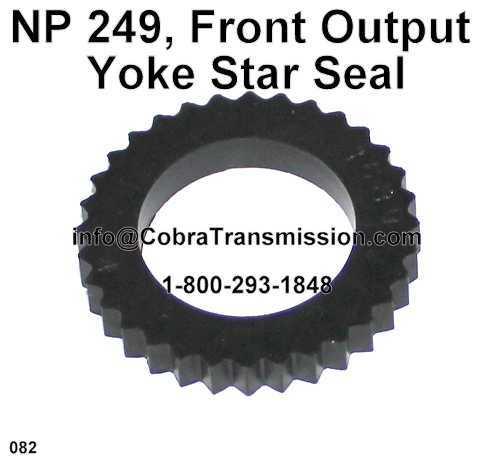 NP 249, Front Output Yoke Star Seal