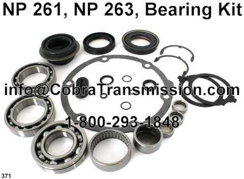 NP 261, NP 263, Bearing Kit
