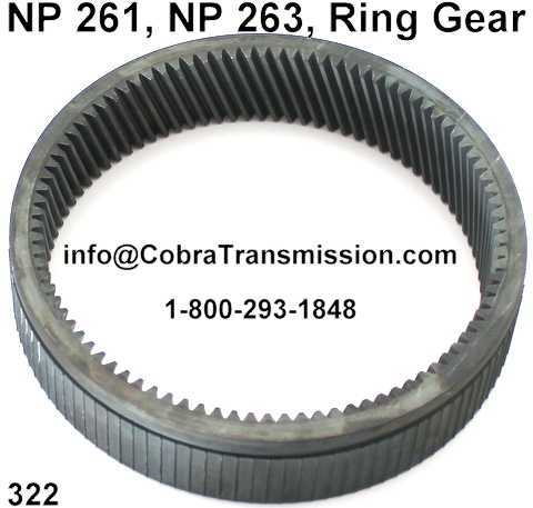 NP 261, NP 263, Ring Gear