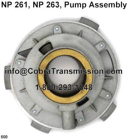 NP 261, NP 263, Pump Assembly