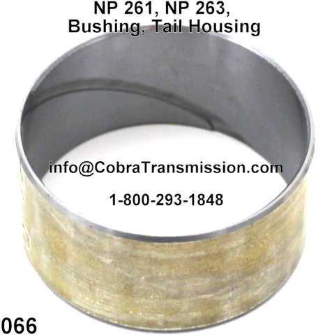 NP 261, NP 263, Bushing, Tail Housing