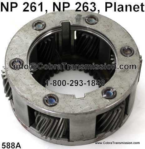 NP 261, NP 263, Planet