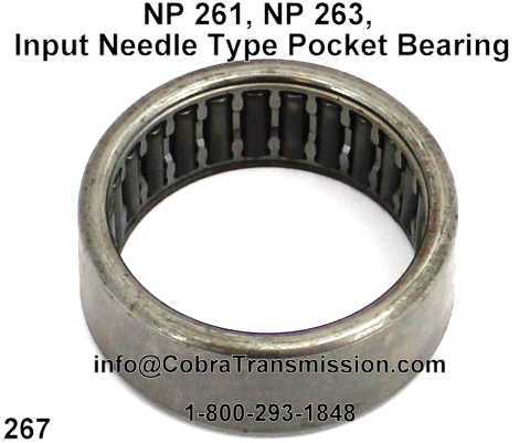 NP 261, NP 263, Input Needle Type Pocket Bearing