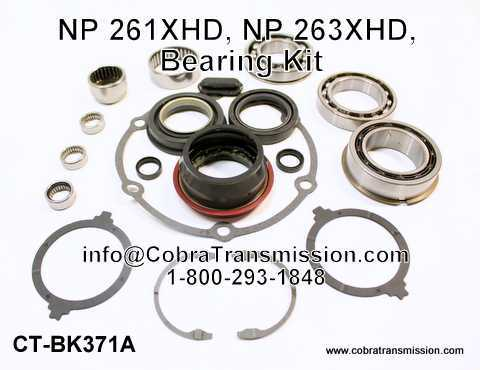 NP 261XHD, NP 263XHD, Bearing Kit