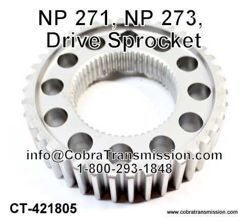 NP 271, NP 273, Drive Sprocket